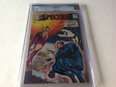 Spectre 3 Cgc 9.2 Off White Pages Neal Adams Art And Cover Wildcat Dc Comics