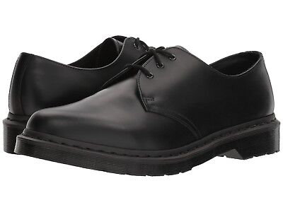 NEW Men's Shoes Dr. Martens 1461 Mono 3-Eye Leather Oxfords 14345001 Black