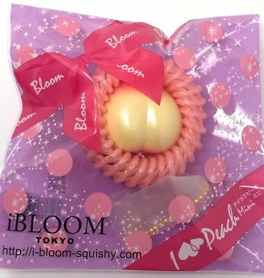 iBLOOM I Love Peach MINI SMALL Squishy Pearl Yellow NEW UPDATED PACKAGING!