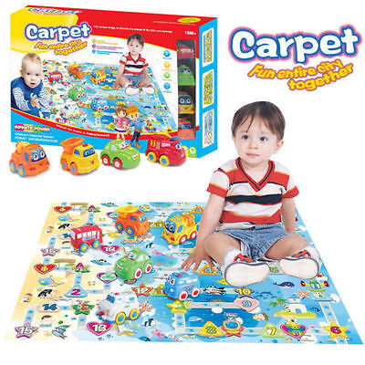 Baby Kid Child Toddler Pretend Play Mat Activity Floor Game Gym Crawl Rug Toy