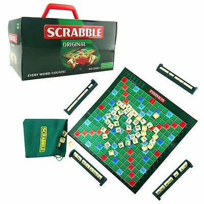 2015 Scrabble Game Family Party Kids Board Travel Game Set 2-4 Players Brand New