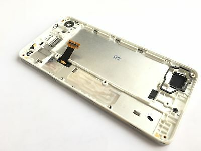 White Full LCD Display touch screen +Frame for Nokia Microsoft Lumia 650