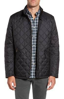 Barbour Men's Flyweight Chelsea Quilted Jacket (Black, S)