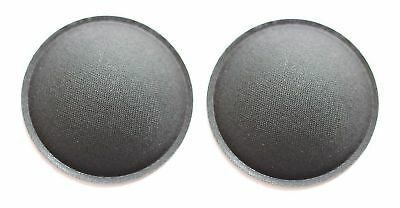 free tracking no.2pcs 40mm SPEAKER SUBWOOFER DOME DUST  CAP cover silver color