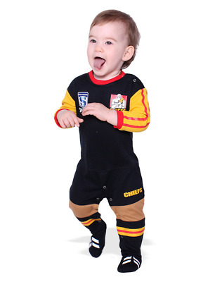 Chiefs Super Rugby Union Footysuit All-in-one Romper 0