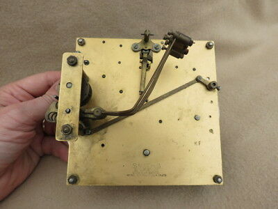 Vintage Smiths Enfield Kf Westminster Chime Clock Movement For Spares Repair