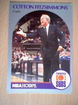 AMERICAN BASKET CARD NBA 90  Nr 325 COTTON FITZSIMMONS