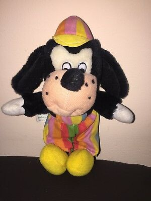 Vintage Goofy Colourful Plush Soft Toy Disney By Playmakers Discoveries
