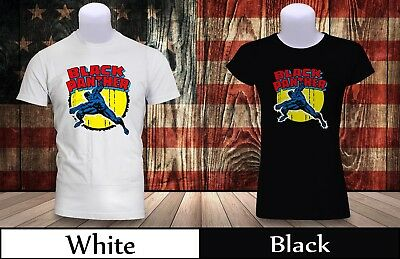 Marvel Comics The Avengers Panther Punch T-shirt Mens/Womens Black&WHite Tee