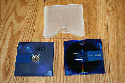 Minidisc Sony Hi-MD 1 GB, blau