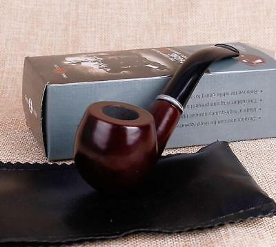 Durable Resin Imitation Solid wood Smoking Tobacco pipe Cigarette Pipes Gift
