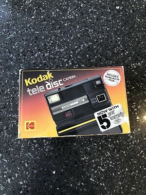 Kodak Tele Disc Film Camera