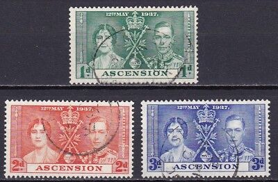 Ascension #37-39 Used Unhinged Coronation Of King George Vi Well Centered