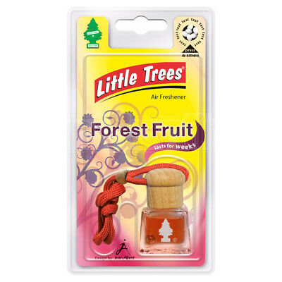 Little Trees Air Freshener Bottle Forrest Fruit 4.5ml Mirror Hanging Scent Aroma