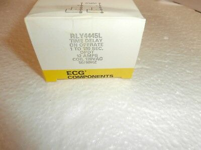 Rly4445L Philips Ecg Time Adj Delay On Operate Relay(R34-11A12-120L)120Vac/dc