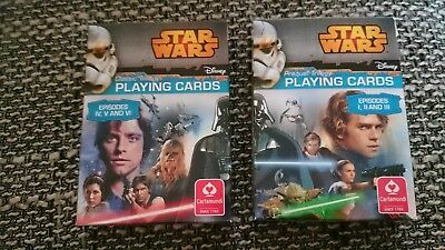 NEU Star Wars Spielkarten Playing Cards Episode 1 - 6 - Disney - cartamundi