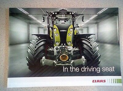 Claas Arion In The Driving Seat Sales Brochure Literature Data