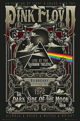 Pink Floyd - Music / Music Poster / Print (Live At The Rainbow Theatre)