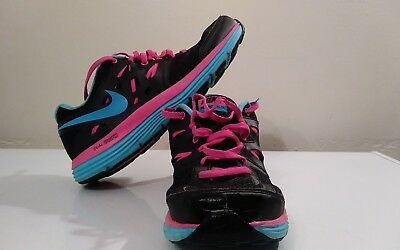 NIKE DUAL FUSION LITE Womens Black Athletic Sneakers c01fe7962302