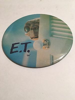 Genuine 1982 Universal City Studios E.t. Pin Button Phone Home Movie Deadstock