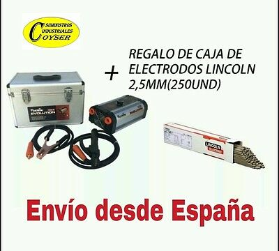 Grupo Soldador Inverter Cevik Evolution 180X +Regalo Electrodos -Inverter.