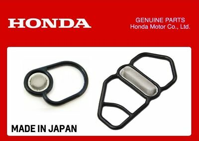 Genuine Honda Vtec Solenoid Gaskets Upper + Lower B-Series B16A1