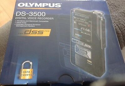 Olympus DS-3500 Flash card Black dictaphone - V403110BE000