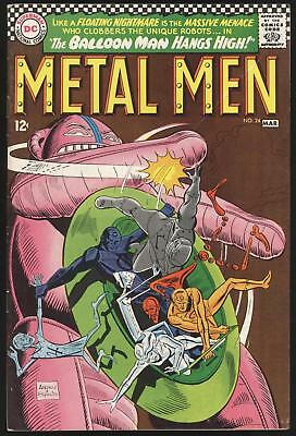 DC  Metal Men Comic Book No. 21 Fine Minus March 1967