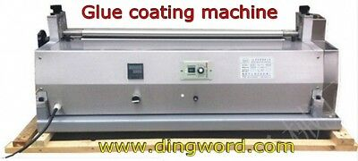 Electric Glue Coating Machine For paper photo book hard covers Gluing Machine