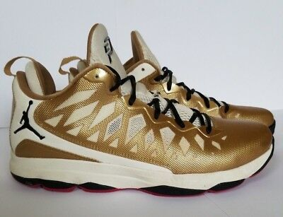 online retailer 42925 32784 CP3 VI JORDANS Metallic Gold PRE-OWNED Worn Once! 535807-705