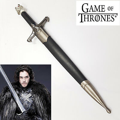 Game of Thrones Wolf Head Longclaw Sword Dagger Knife-Pre Order
