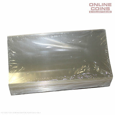 """#NPS 350 PACK OF 100 SUPERSAFE LARGE CURRENCY HOLDERS 3 1//2/"""" x 8/"""""""