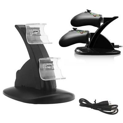 NEW Dual 2 USB Charging Docking Charger Stand Station for Xbox ONE Controller Bʌ