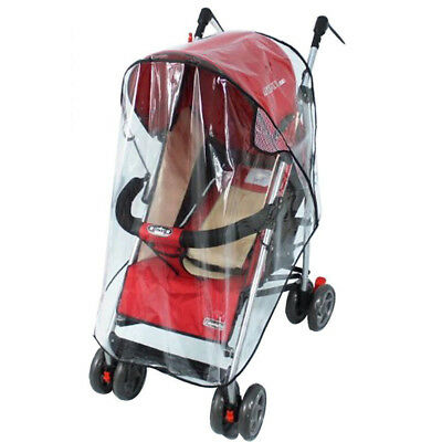 NEW Universal Stroller Clear Shield Rain Wind Waterproof Cover For Baby Stroller
