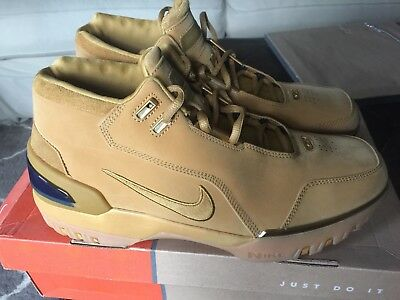 33f5ba90c4a55 NIKE LEBRON AIR zoom generation 1 og all star wheat size 12.0 first ...