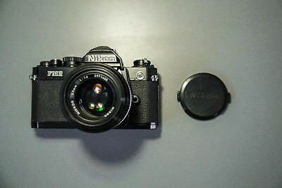 Nikon FM2N SLR with 50mm Lens from Japan [Mint Condition]