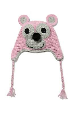 Pink Monkey Critter Cap  Lincraft DIY Kids Learn to Crochet Knitting Craft Kit G