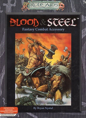 Blood & Steel * Role Aids-Box (auch AD&D = NEU & Original + OVP