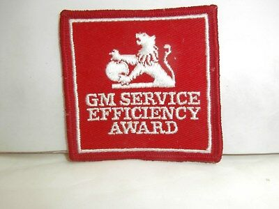 Gmh Holden Collectible Cloth Badge Awarded To Dealership Service Personnel
