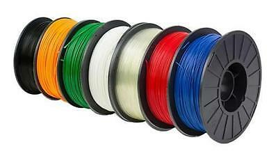 3D Printer Filament Roll 1.75mm ABS PLA TPE PETG Various Colours Made in Taiwan
