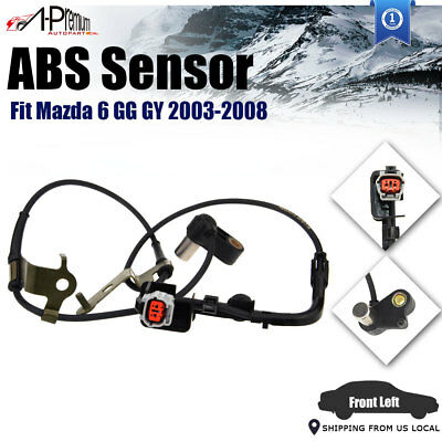 A-Premium ABS Wheel Speed Sensor fit Mazda 6 GG GY 03-08 Front Left Driver Side