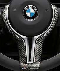 Brand New Genuine BMW M3/M4 M Performance Gloss Carbon Steering Wheel Trim