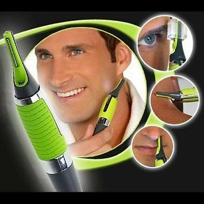 Ear Nose Eyebrow Hair Trimmer Micro Precision LED Shaver Machine Men's Travel