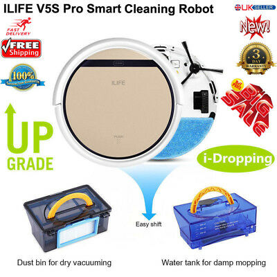 Intelligent Auto Robotic Vacuum Cleaner Floor Dust ILIFE V5S Pro Sweeper Machine