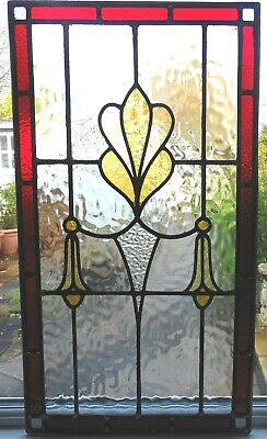 An Original Fully Restored Stained Glass Panel - Ref Sg305
