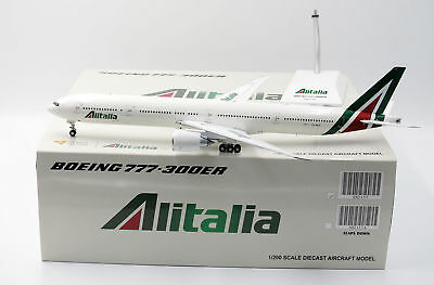 Alitalia Boeing B777-300ER EI-WLA - Scala 1:200 Die Cast - JC Wings