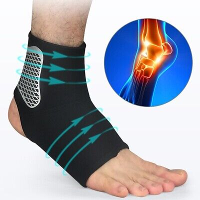 UK Ankle Support Compression Strap Achilles Tendon Brace Sprain Protect