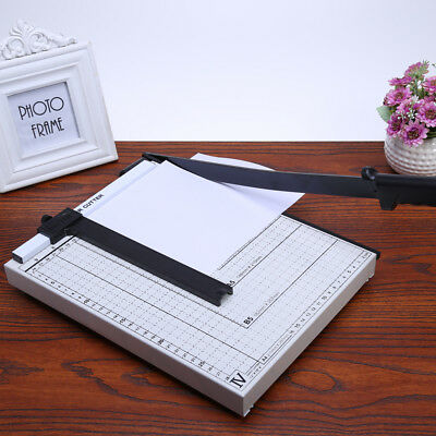 Pro Heavy Duty A4 Paper Cutter Guillotine Home Office Paper Photo Trimmer UK