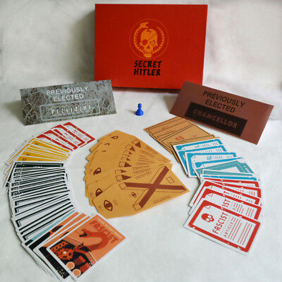 English Version Board Game Porker Cards Card Game Secret Hitlers Party Game