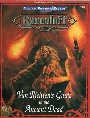 RAVENLOFT Van Richten's Guide to the Ancient Dead *Neu*